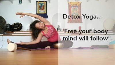 Detox Yoga zur Fasten-Begleitung